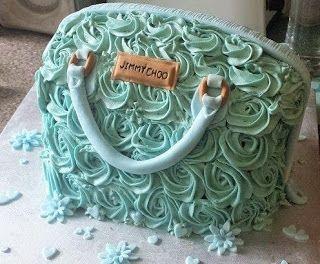 .: Jimmy Choo cake