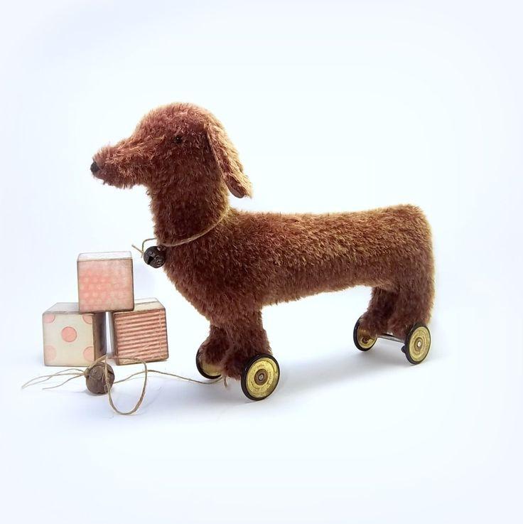 Old Push Along Dog