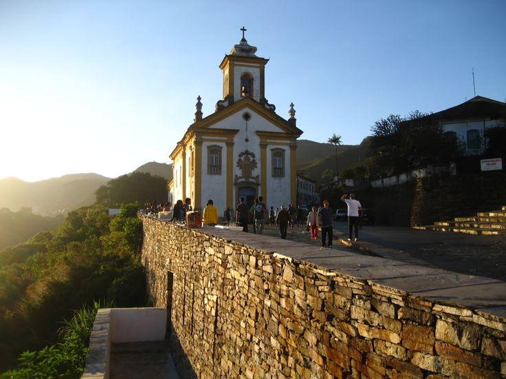 Igreja de Nossa Senhora das Mercês - Ouro Preto.- Minas Gerais - Brasil
