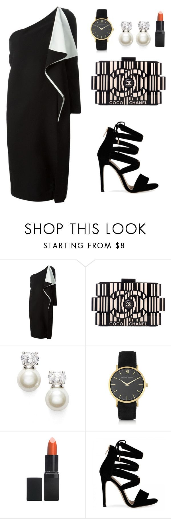 """My First Polyvore Outfit"" by lua-cc ❤ liked on Polyvore featuring Chloé, Chanel, Judith Jack, Larsson & Jennings and Barry M"