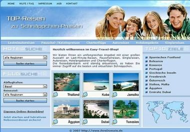 I will give you Online Travel Service Website PHP Script Web project for $69 : Newtron - NetJobs24.net