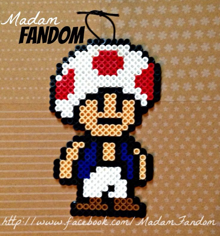 Toad Mario Large Ornament
