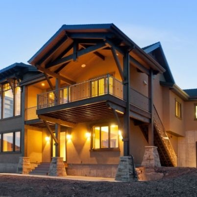 Home built by Cameo Homes Inc. in Jeremy Ranch, Utah
