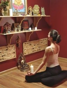 The key to creating a home meditation practice is to create a space where the busyness stops.  We tend to be busy all day, and when we co...
