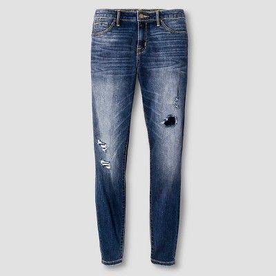 Women's High-rise Jegging - Mossimo Medium Wash 12S, Size: 12 Short, Blue