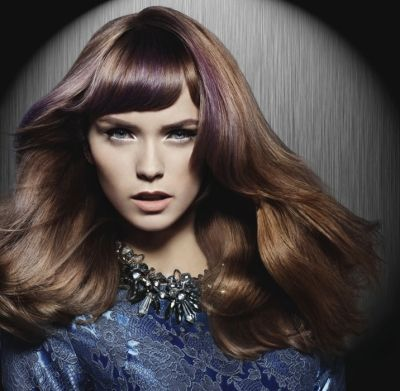 metallic hair dye