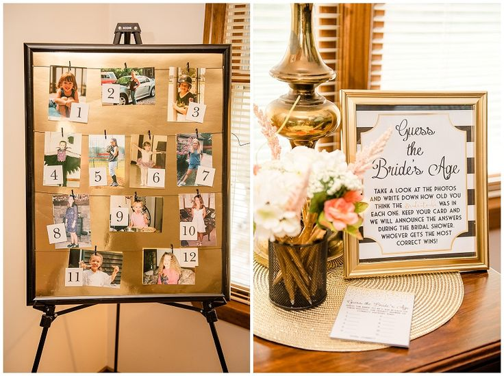 Kate Spade inspired bridal shower brunch // Bridal shower game // Michael & Laura Photography