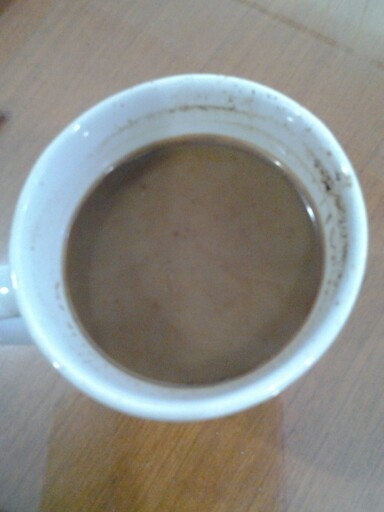 Today's coffee...black and chocholate,,