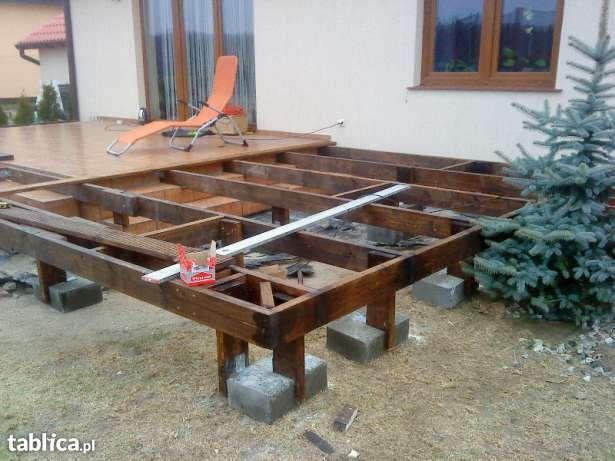 Zbuduję taras, zadaszenie nad tarasem, wiatę garażową, drewutnię, itp. z drewna. Gwarantowana dokładność. Grodzisk Mazowiecki i okolice. W załączeniu zdjęcia z moich realizacji.