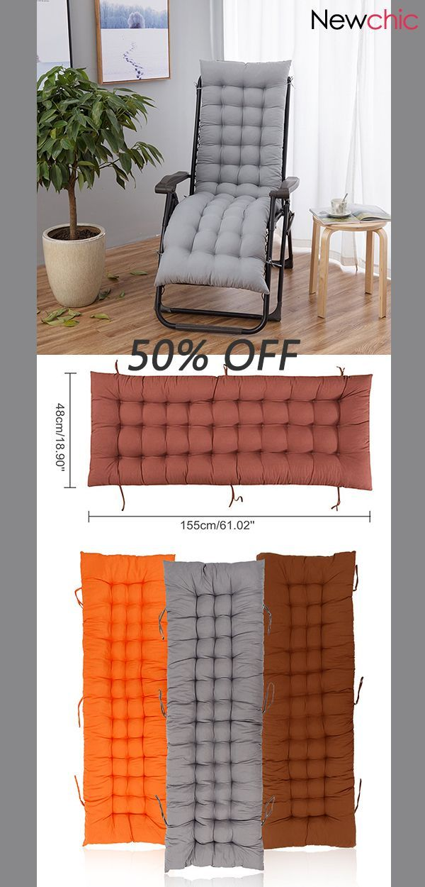 garden recliner chair covers what is the best anti gravity cotton soft seat pad replacement cushion sun lounger 50 off cover softseat wishlist fashion