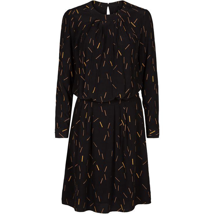 Iggy dress nice print dress black swan fashion