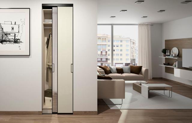Placard coulissant  aménagements et portes coulissantes Placard - comment poser des portes de placard