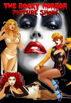 Image result for horror icon pinups