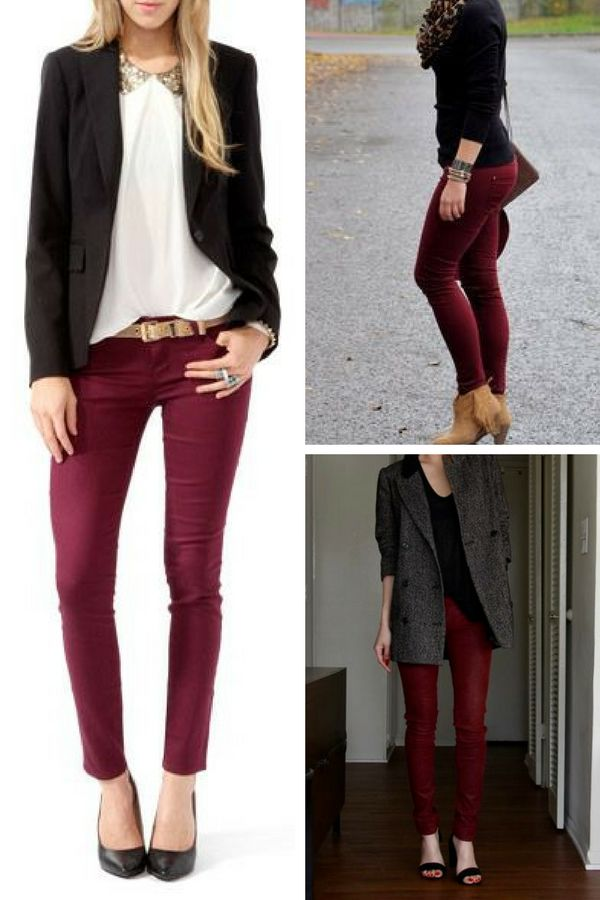 New How To Wear The Burgundy Color  Aelida