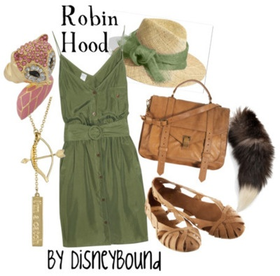 By DisneyBound: Shoes, Robins Hoods, Clothing, Disney Inspiration Outfit, Disneybound Style, Robinhood, Robin Hoods, Disney Bound, Disney Fashion