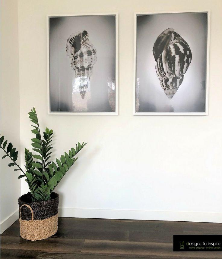 Tuesday trend - Hallway art #designstoinspire #homestyling