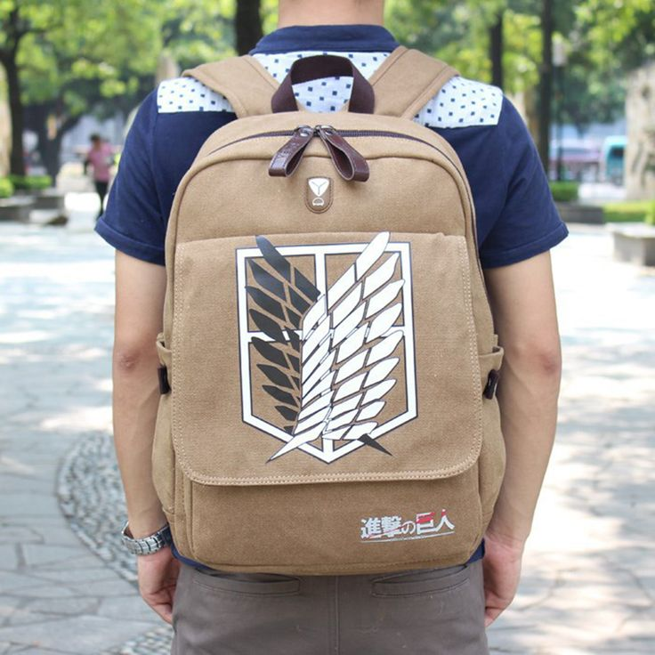 Attack On Titan Backpack Hangers - Free Shipping Worldwide