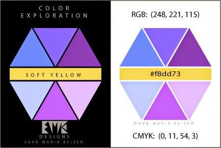 "Eva Maria Keiser Designs: Explore Color:  ""Soft Yellow"""