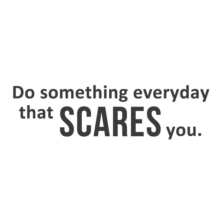 wall quotes wall decals - Something Scary