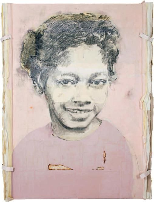 2008 Rosa Parks from series 'They Became Famous' by Louis Boudreault (b1956; Havre-Aubert, Magdalen Islands; based In Quebec since 1998)