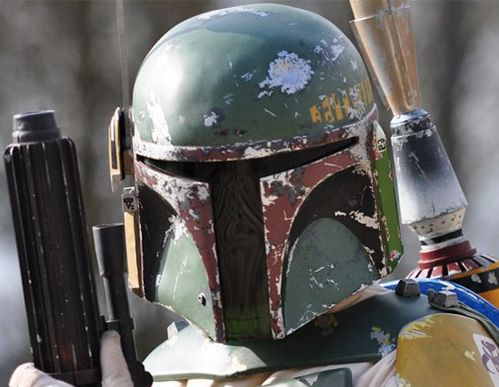 Complete your Boba Fett costume with this hand made Boba Fett helmet. Crafted using liquid resin and featuring extreme attention to detail, the iconic Mandalorian helmet worn by the infamous bounty hunter can now be yours!