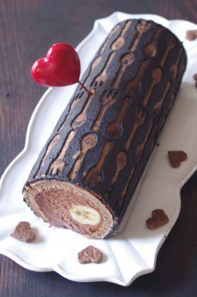 「【バレンタイン】キッチンデコ・チョコロール」ままごと師   お菓子・パンのレシピや作り方【corecle*コレクル】