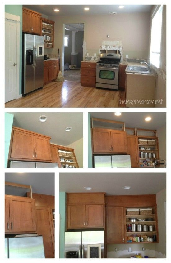 Filling In That E Above The Kitchen Cabinets Kitchens Pinterest And Cabinet