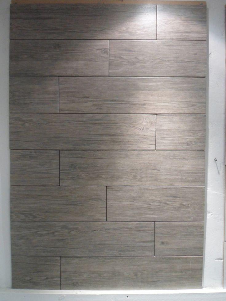 1m 178 Jungle Grey Mud Wood Porcelain Tile 60 5x15cm Wall