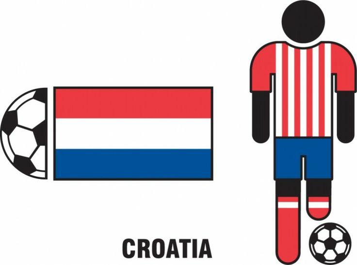 Croatia Soccer Jersey, Flag