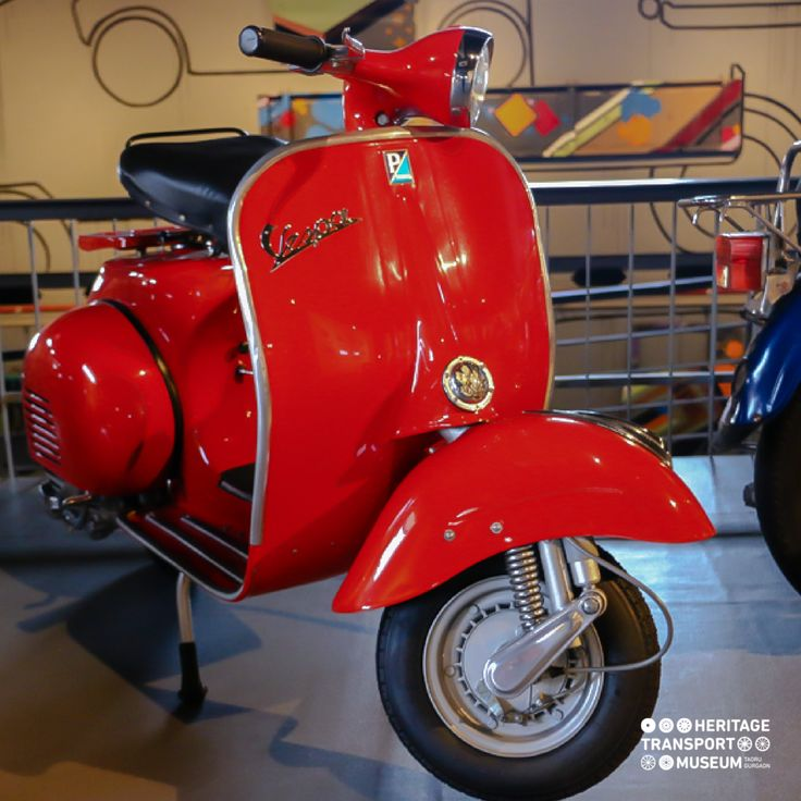 The Vespa scooters were produced in India by Bajaj Scooters. 'Piaggio' the Italian manufacturers of Vespa had given the license to Bajaj Scooters in India!  #vespa #piaggio #vintagescooters #vintagecollection #heritagetransportmuseum #incredibleindia