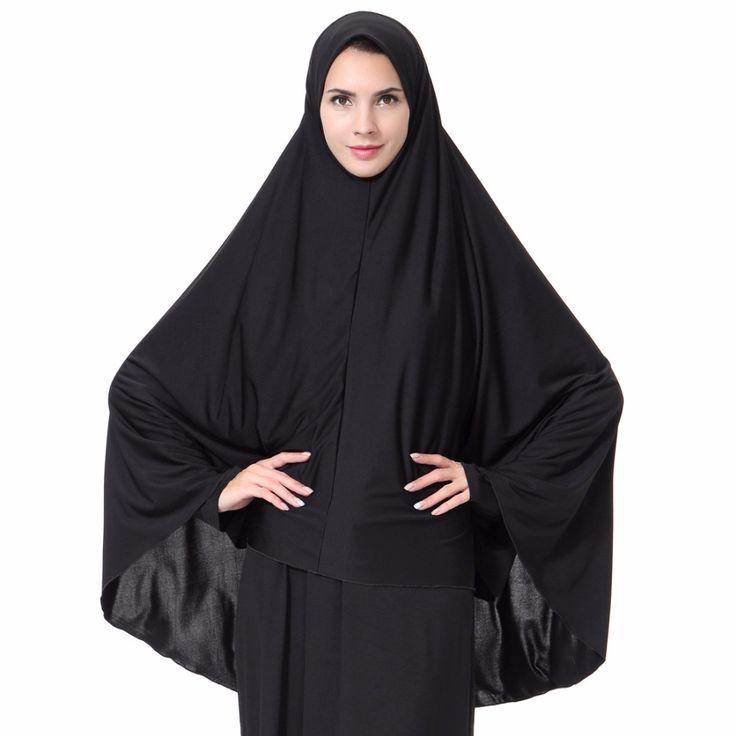 >> Click to Buy << Women' Muslim Hijab Caps Saudi Arabia Islamic Long Head scarfs  #Affiliate