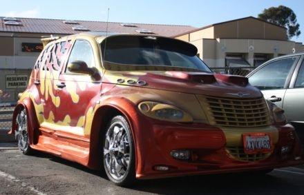 1000 ideas about chrysler pt cruiser on pinterest pt cruise barbie caravan and custom cars. Black Bedroom Furniture Sets. Home Design Ideas