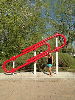 Roadside Attractions: From Paperclips And Eiffel Towers To Ice Cream Stands And Elevators