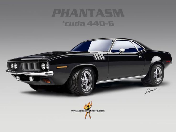 -HORROR MOVIE IMAGES :: Phantasm car 1971 Plymouth Barracuda