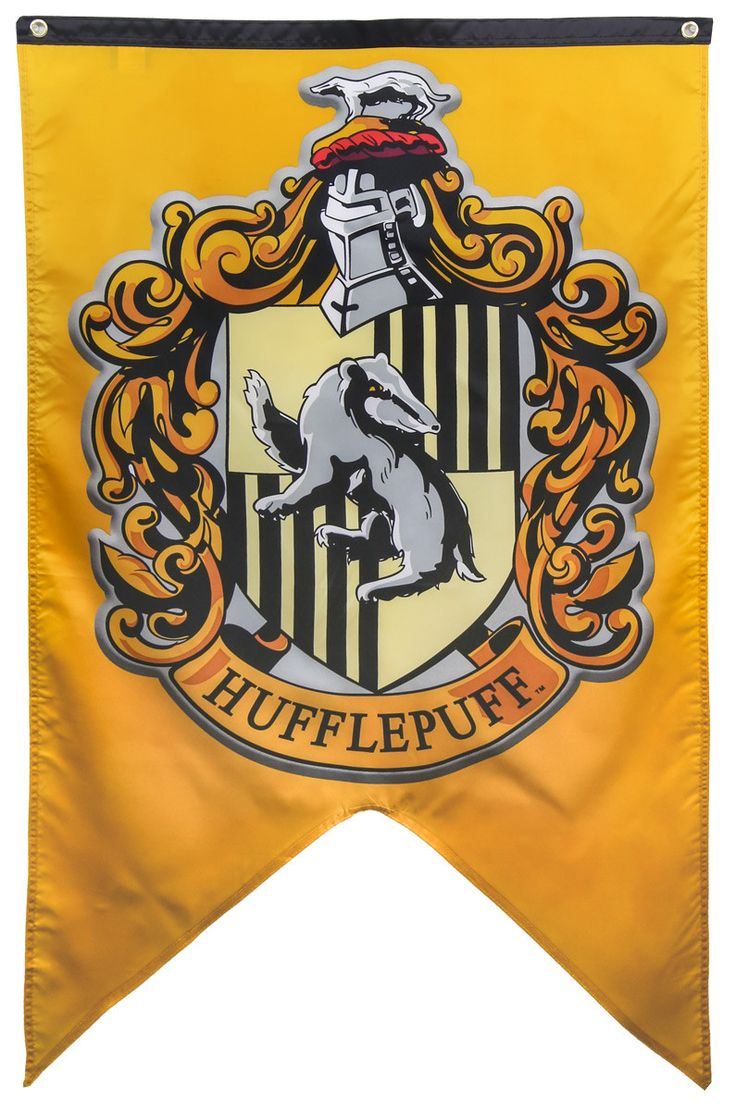 Harry Potter Hufflepuff Banner Harry Potter Banners And