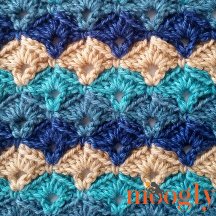 Oh My Blanket - free crochet pattern on Mooglyblog.com!