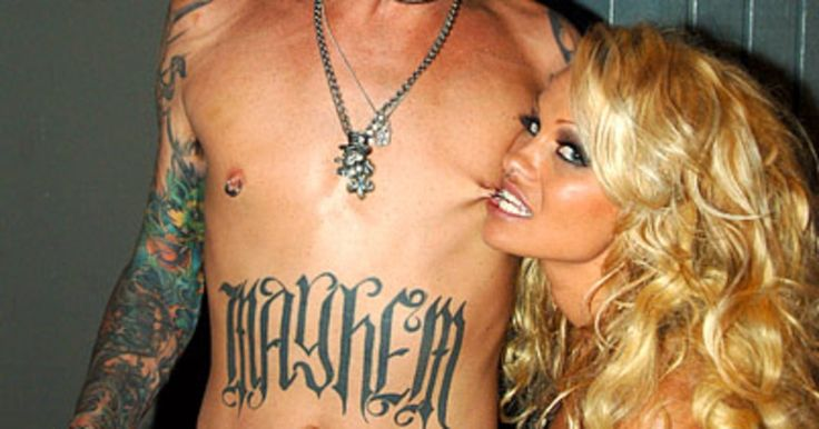 """In 1995, the Motley Crue drummer tied the knot with the Baywatch babe -- after spending just four days together! Their sex tape was leaked in 1995, and three years later, Anderson filed for divorce. The couple -- parents to sons Brandon and Jagger -- reunited briefly but eventually split for good. """"It was so crazy at that time, with our love affair and the attention we were getting -- we got so much -- that neither of us knew really knew what to do with it all,"""" Anderson later told Esquire."""