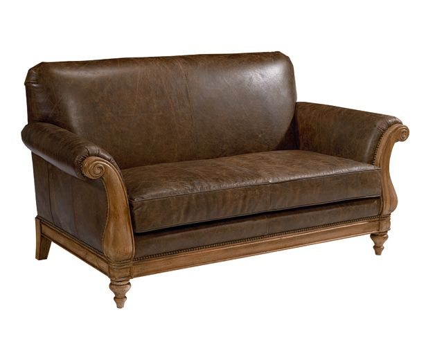 Webster Avenue Leather Loveseat - Magnolia Home Furniture by Joanna Gaines now at Potentially Chic