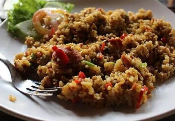 Resep Nasi Goreng Oat Sarapan Ala Wrp Sarapan Resep Masakan Masakan