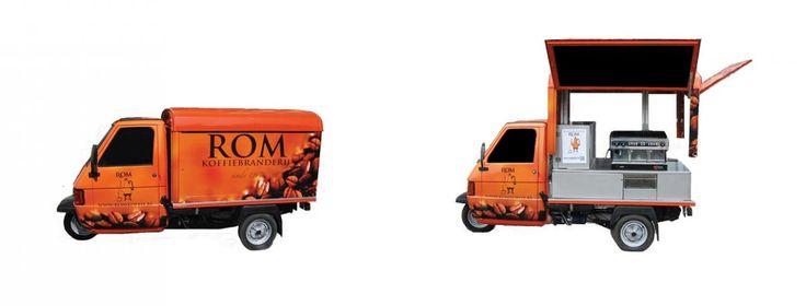 De ROM-mobiel   Koffiebranderij Rom