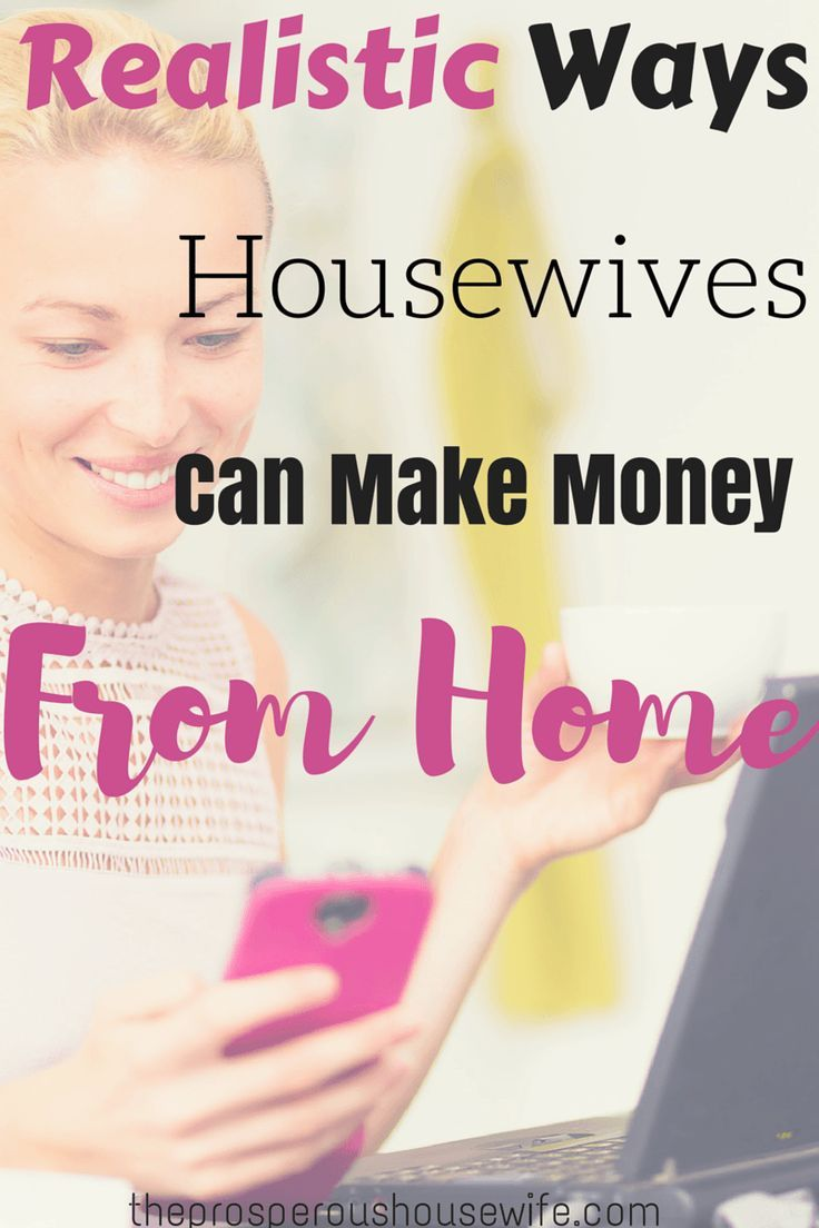 These are some great ways to make money from home!