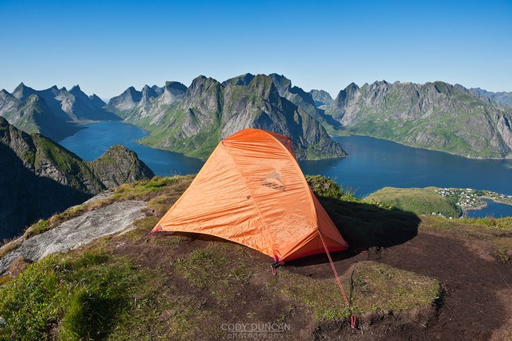 info about wild camping in norway