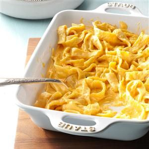 German Noodle Bake Recipe -This is a recipe I serve each year for my holiday open house because everyone looks for it. Store-bought noodles can be substituted, but I prefer homemade noodles...and so does everyone else.