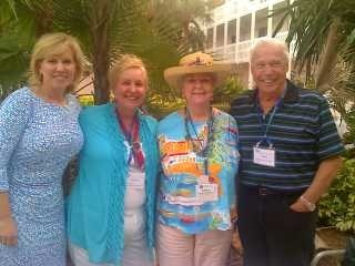 Sister Cities International leadership attended the 2013 Florida Sister Cities State conference in full force, including SCI President & CEO Mary Kane; Chair of the SCI Honorary Board & SCI State Coordinator for Georgia Launa Kowalski; SCI State Coordinator for Florida Pat Buchanan, and SCI Board Member Ron Gossett. Group pictured at the poolside reception at the Helmsley Sandcastle Resort on Lido Key in Sarasota on May 2nd