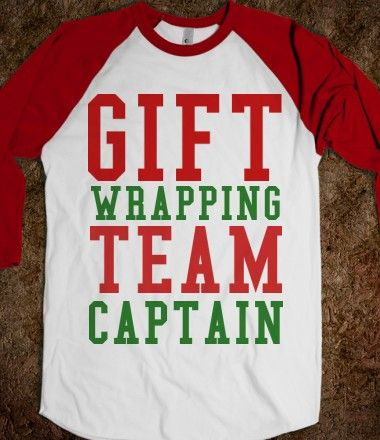 GIFT WRAPPING TEAM CAPTAIN