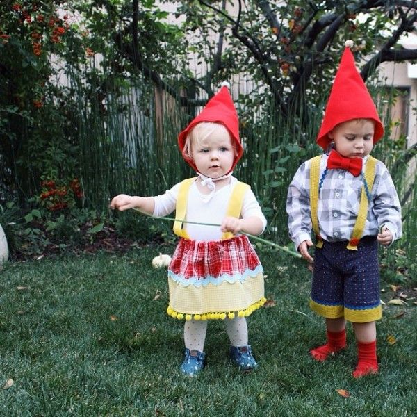 DIY Gnome Costumes from Brooke White