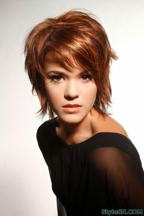 Short pixie hairstyle of short hair styles -StyleSN