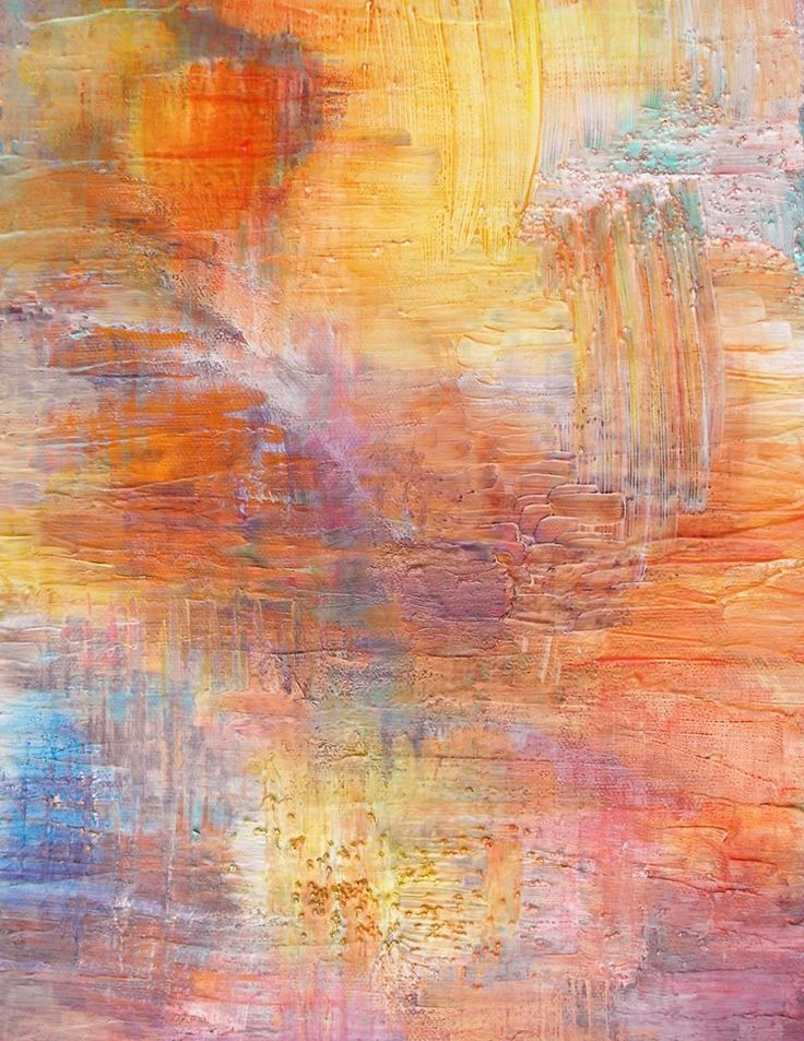 Textured mixed media abstract painting original art by for Textured acrylic abstract paintings