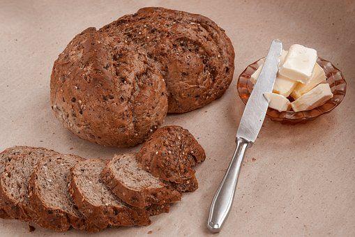 Chleb, Żywności, Olej, Nóż