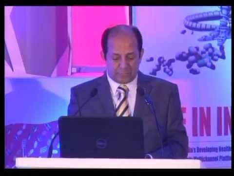 Mr. Daara Patel, Secretary General, IDMA addressing at Pharmaleaders 2014